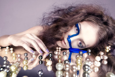 """Running Water"" taken by Yifan Xu with model Darcy Hubscher."