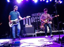 Bass player Nick Dika and Mike DeAngelis, guitar.