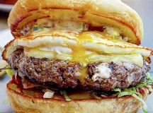 Why do burgers only have to be for breakfast? @burgersTO understands that's not only the case, featuring the brunch burger from Momofuku.