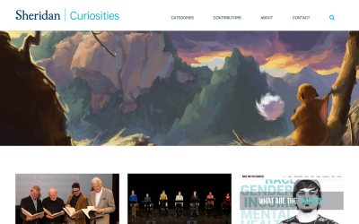 Sheridan Curiosities is a finalist for the Canadian Online Publishing Awards taking place on Nov. 19.