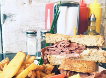 This reuben served at Duffy's Diner was featured on @fatgrlfoodsquad because not only is it huge and delicious, but also from Toronto. Photo by @fatgrlfoodsquad.