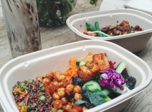 @vegangirlfriend offers suggestions for vegan meals for everyone at places as local as Whole Foods.  Picture by @vegangirlfriend.