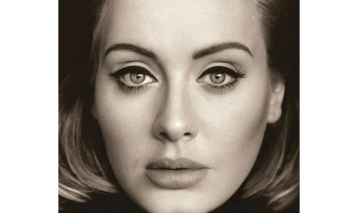 "The cover of the new Adele album - ""25"""