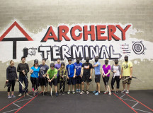 Archery Tag is for all age groups to enjoy.