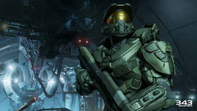 The Master Chief ready for another adventure in intergalactic battle.