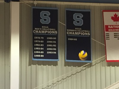 We are always reminded of our illustrious history in men's volleyball