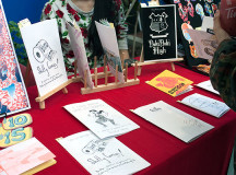 A collection of works from the Sheridan Comic Making Club.