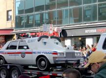 Blinky the vintage cop cruiser.