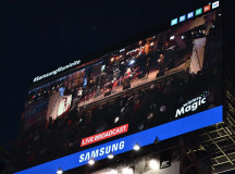 Throughout the entire celebration, Illuminite's festivities were live broadcasted by their partner Cieslok Media on the three digital screens at Yonge Dundas Square.