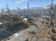 The commonwealth of Boston was once filled with life but after nuclear war the settlements are now bare and decayed.
