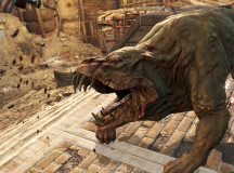 Mutant hounds are a new enemy in Fallout working for the super mutants. They are massive and can kill anything easily when they swarm.