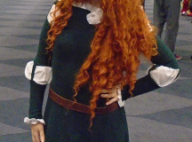 Cosplay is not limited to just anime and comic books. Ideas can be drawn from Western culture as well, like this Merida from Disneys Brave.