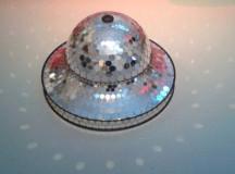 A disco ball.