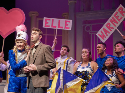 Elle Woods was played by Kelsey Lacombe. Photo courtesy of John Jones Photography.
