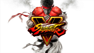 Street Fighter V's title card. (Screenshot by Cole Watson/The Sheridan Sun)