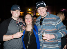Joel Eppinghaus,  Ashley Van Hee and  Kyle Apencley attended Winter Brewfest on Saturday Feb. 20.