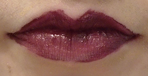 L'oreal Infallible Pro-Last Lipcolour in Mesmerizing Merlot. (Photo by Cait Carter/The Sheridan Sun).