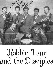 Robbie Lane and The Disciples. (Photo retrieved from: robbielane.com)