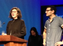 Sarah Claydon and Anthony  Virgillio: The two award winners that spoke for each other!