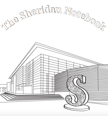 The cover of The Sheridan Notebook