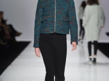 Ellie Mae at Toronto Fashion Week. (Photo from louloumagazine.com)